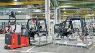L-MATIC von Linde im Einsatz in der Produktionshalle