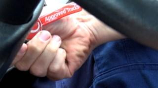 Schlüsselanhänger mit Linde approved Logo