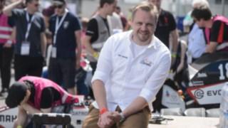 Tim Hannig, Vorsitzender der Formula Student Germany am Hockenheimring