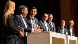 Podiumsdiskussion zum Abschluss des 6. Material Handling Symposiums