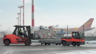 """Linde Material Handling auf der """"inter airport Europe"""" 2017 vom 10. bis 13. Oktober in München"""