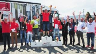 Siegerteam beim Pelzer-StaplerCup 2019 in Kerpen